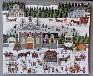 Christmas Revelers